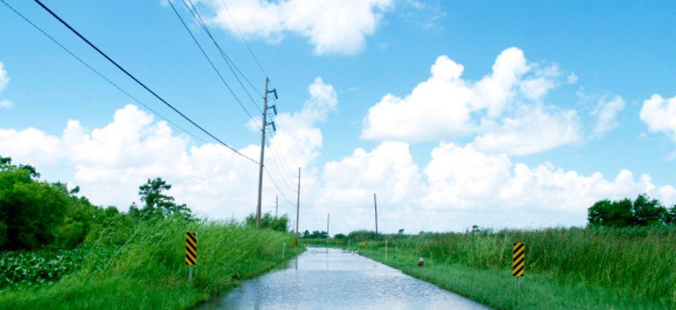 Venice-flooded-road-WWNO