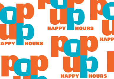 Pop Up Happy Hour Twitter