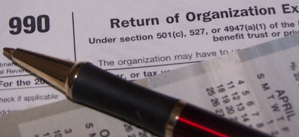 The Form 990 Its More Than A Required Tax Form Greater New